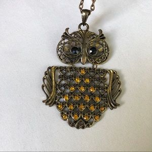 Jewelry - Owl long necklace